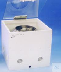 Mojonnier Centrifuge Type Ex.8  Casing:PVC white Lid:ESG Safety glass...