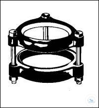 SUPPORTS FOR FLAT  FLANGES, 40 MM    PACK = 1 PCS SUPPORTS FOR FLAT  FLANGES, 40 MM    PACK = 1 PCS