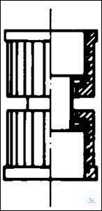 SVS-SCHRAUBKUPPLUNG GL14 SVS-SCHRAUBKUPPLUNGEN GL 14  MIT SILIKON-PTFE-DICHTUNG