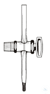 3Articles like: Stopcock burette f. 10ml solid straight Stopcocks for burettes, straight, ST...