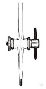 3Artículos como: Stopcocks for burettes, straight, ST 12,5, bore: 1,6 mm, acc. to DIN 12541,...