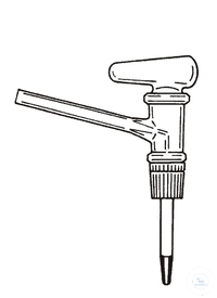 4Articles like: Stopcock burette solid lateral Stopcock for burettes, lateral, ST 12,5, bore:...