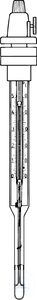 CONTACT THERMOMETERS, ADJUSTABLE, 0+250:2 °C,  WITH TURNING  CONTACT THERMOMETERS, ADJUSTABLE,...