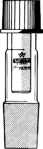 GTS-VACUUM-STIRRER GUIDES, PTFE INSERT,   CONE ST 45/40, BOR GTS-VACUUM-STIRRER GUIDES, PTFE...