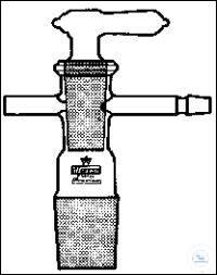 EVAKUIERUNGSAUFSATZ Kern NS14 met vacuümontluchtingskraan