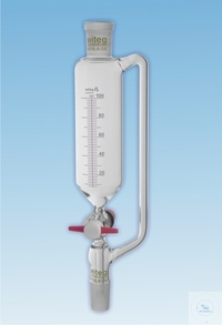 DROPPING FUNNELS, CYL., PRESSURE EQUALIZING, GRAD.,  ST-PTFE DROPPING FUNNELS, CYL., PRESSURE...