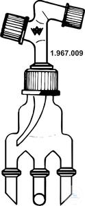 Distilling receivers, Bredt, 1 GL 18/10, 1 GL 25/12, 1 GL 14/6 w. 4 FA 10