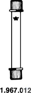 Reaction tube, small, 2 GL 18/10