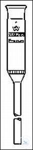 MIKRO-FILTERNUT.PREGL 4ml P1 MIKRO-FILTERNUTSCHEN,NACH PREGL, 4,0 ML, P1  PLATTE-Ø 10 MM,STIEL-Ø...
