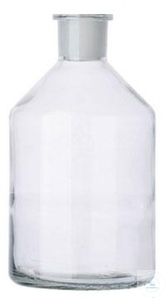 Spare-gas washing bottles, ST 29/32, 500 ml, Soda glass