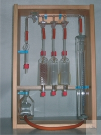 GAS ANALYSIS APPARATUS,  ORSAT-FISCHER, COMPL.   GAS ANALYSIS APPARATUS,  ORSAT-FISCHER, COMPL.