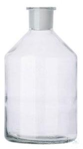 Reservoir bottle for burettes, 1000 ml, ST 29/32, clear glass,...