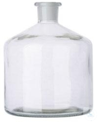 RESERVOIR BOTTLE FOR BURETTES,  2000 ML, ST 29/32, CLEAR GLA RESERVOIR BOTTLE...