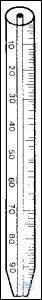 HAEMATOCRIT TUBES, ACC. TO DAHLAND, PRISMATIC, WHITE ENAMELLED, GRAD. 50...