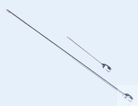 Injection needles, Ø 1.0 x L 120 mm, extra long,  with chrom Injection needles, Ø 1.0 x L 120 mm,...