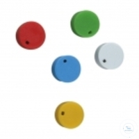 4Artikelen als: CRYOSTOPPERS, PP, COLOUR CODE, YELLOW,  CASE = 500 PCS CRYOSTOPPERS, PP,...