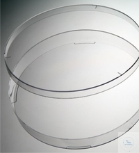 Bacteriological petri dishes, D: 140 mm, made of clear PS, without vents, machine steril, Case =...