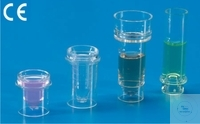 Sample beaker for Hitachi 705-706-712-7250- M/40-S40, Ø 16,75 mm, height 38 mm, PS Case = 1000 pcs.