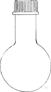 MUTAGENESIS FLASKS, 500 ML, NECK  Ø 32 MM, MAX.FLASK Ø 105 M MUTAGENESIS FLASKS, 500 ML, NECK  Ø...