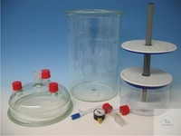SPARE PART:  DRYING STAND (PP) WITH 2 PORCELAIN PLATES  200  SPARE PART:  DRYING STAND (PP) WITH...