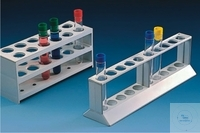 TEST TUBE RACKS,PP,  HOLES 24, O.D. 21 MM 375X65X85 MM   TEST TUBE RACKS,PP,  HOLES 24, O.D. 21...