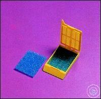 ACCESSORIES FOR EMBEDDING FRAMES EMBEDDING SPONGE, 30 X 25 MM, BLUE CASE =...