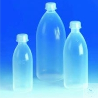 BOTTLES,(PFA),NARROW NECK, HIGH RESISTANCE BOTH TO HEAT + CHEMICALS ATTACKS,...