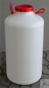 CARBOYS, PE, WIDEMOUTHED,ROUND, WITH SCREW-CAP, 50 L