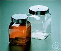 SQUARE WIDE MOUTH CONTAINER (PVC), 100 ML,   WI...