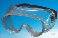 LABORATORY PROTECTION GOGGLES, MADE OF TRANSPARENT PLASTIC, WITHOUT...