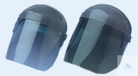 Full faceshield, blue transparent PC, protecion 2, EN 166 faceshield 350 x...