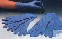 Disposable nitrile gloves, size 10-11 (XL), powder-free  Cas Disposable nitrile gloves, size...