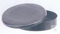 Deckelbüchse, Ø 80 mm, Höhe 20 mm, komplett mit Deckel, aus Aluminium
