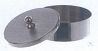 2Artikel ähnlich wie: Verdampfschale, 45 ml, Ø: 60 mm, Höhe: 16 mm, flacher Boden, mit Deckel,...