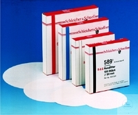 FILTER PAPER CIRCLES, RED RIBBON 4, MEDIUM DENSE,MEDIUM RAPID, FILTER-DIA. 70 MM, CASE = 100 PCS.
