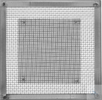 Wire Gauze, with frame,   size 155 x 155 mm, stainless steel Wire Gauze, with frame,   size 155 x...