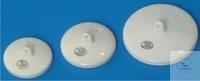 Deckel Ø:35mm Porzellan für Tiegel NF DECKEL, PORZELLAN, F. SCHMELZTIEGEL BR.   FORM, GLASIERT,...