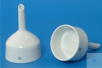 SUCTION FILTER FUNNELS, ACC. TO BÜCHNER,   PORC., GLAZED, FI SUCTION FILTER FUNNELS, ACC. TO...