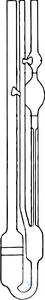 VISCOMETERS,L.283 MM,  F.TRANSP.LIQUIDS CAPILLARY: 2,  RANGE VISCOMETERS,L.283 MM,...