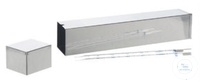 Pipette sterilizing box, square, 70 x 70 mm,  total length 2 Pipette sterilizing box, square, 70...