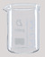 BEAKERS, 50 ML, LOW FORM, WITH GRADUATION   IN ML AND OZ.  A BEAKERS, 50 ML, LOW FORM, WITH...