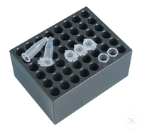 Heating Block, Type BLC548, 48 holes, for centrifuge tubes 1,5 ml Heating...