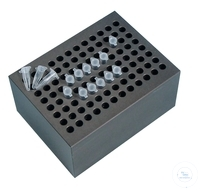 Block BLC596 96 holes for 0.2ml PCR-tubes Heating Block Type BLC596  96 holes for PCR tubes 0,2 ml