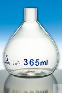 Überlaufmesskolben für Wasseruntersuchungen, Klasse B 650,0ml
