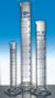 Messzylinder, Klasse A, 25 : 0,5 ml, konformitätsbesch. blau grad., H-F., Sechskantfuß,...