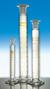 Messzylinder 10ml Kl. A Schliff NS10/19 braun graduiert mit PE-Stopfen Messzylinder mit Schliff...