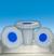 PE-stopper ST 10/19 DIN 12254 octagonal plate PE-stopper ST 10/19 DIN 12254 octagonal plate