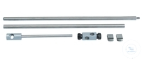 Stand rod RD100, Ø 12,7 mm, length: 390 mm, stainless steel, for HP-30A/30D,...