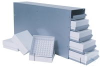 Rack for cryo boxes, Sliding Drawer, for SWUF-(D) 300/400, 15 places, 140 x...