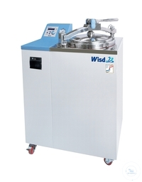 Steam sterilizer / Autoclave 47L up to 132°C with Recorder Ideal for Biotechnology, Clinical,...